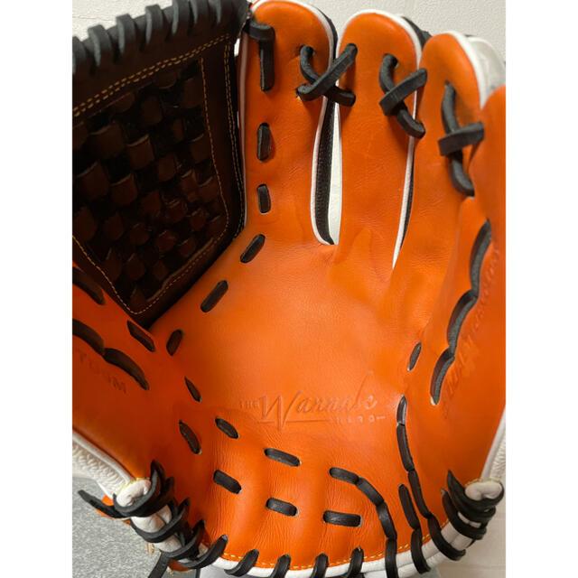 wilson(ウィルソン)のウイルソン ウィルソン 軟式 内野 グラブ グローブ スポーツ/アウトドアの野球(グローブ)の商品写真
