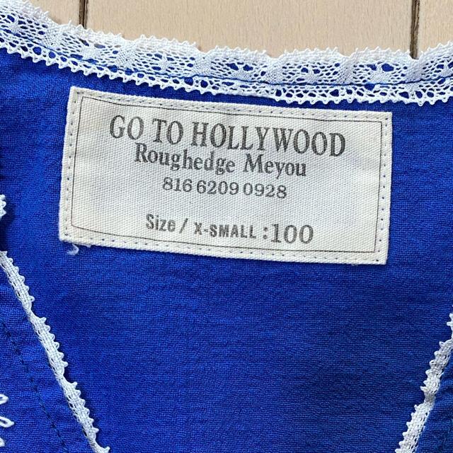 GO TO HOLLYWOOD(ゴートゥーハリウッド)の新品❤️ GO TO HOLLYWOOD 刺繍チュニック 100 キッズ/ベビー/マタニティのキッズ服女の子用(90cm~)(Tシャツ/カットソー)の商品写真