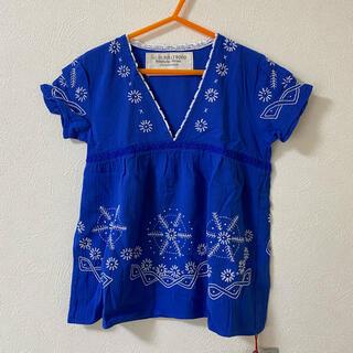 ゴートゥーハリウッド(GO TO HOLLYWOOD)の新品❤️ GO TO HOLLYWOOD 刺繍チュニック 100(Tシャツ/カットソー)