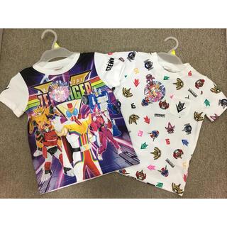 バンダイ(BANDAI)の新品 ゼンカイジャー Tシャツ 100 2枚セット①(Tシャツ/カットソー)
