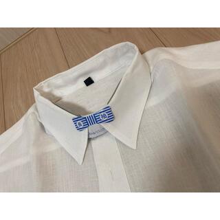 ムジルシリョウヒン(MUJI (無印良品))の良品計画 メンズ麻長袖シャツ XL(シャツ)