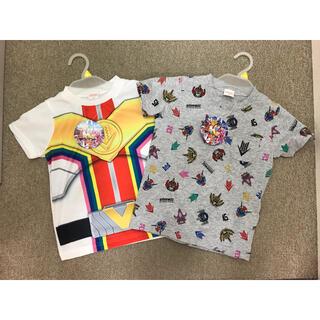バンダイ(BANDAI)の新品 ゼンカイジャー Tシャツ 100 2枚セット②(Tシャツ/カットソー)
