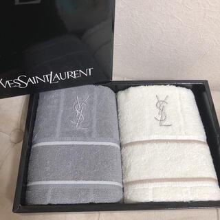 Yves Saint Laurent Beaute - YVES SAINT LAURENT イヴサンローラン タオルハンカチ