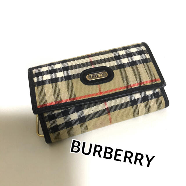 BURBERRY(バーバリー)のBURBERRYs オールドバーバリー キーケース 6連 レディースのファッション小物(キーケース)の商品写真