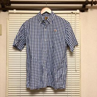 アベイシングエイプ(A BATHING APE)のHUMAN MADE gingham check b.d s/s shirt(シャツ)
