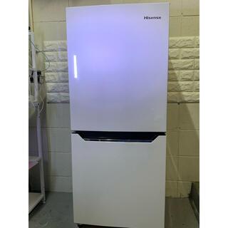 高年式【美品】【清掃 除菌 消毒済み】ハイセンス 冷凍冷蔵庫 HR-D1302