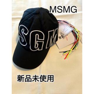 MSGM - 【新品未使用】【MSGM】ブランドロゴ入りベースボールキャップ 2640ML09