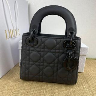 Dior - 【美品】Lady Diorレディディオール ミニバッグ