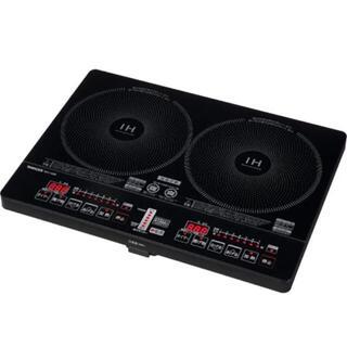 ヤマゼン(山善)のYAMAZEN 山善 YEH-1456 2口 IH調理器(調理機器)