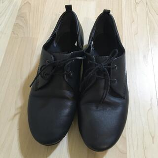 ムジルシリョウヒン(MUJI (無印良品))の無印/レザーレースアップシューズ(ローファー/革靴)