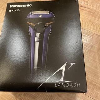 パナソニック(Panasonic)のパナソニック ラムダッシュ メンズシェーバー 5枚刃 ES-CLV7D-A (メンズシェーバー)