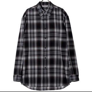 1LDK SELECT - AURALEE 21AW ウールチェックシャツ オーラリー