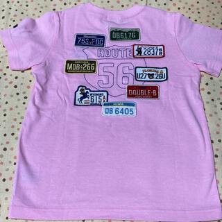 mikihouse - ワッペンがいっぱい ミキハウス ダブルビー Tシャツ 110