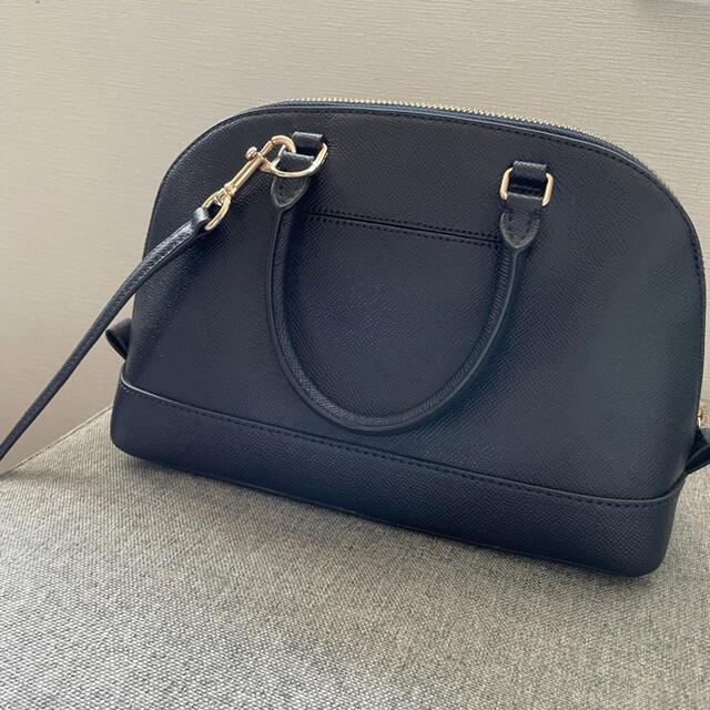 COACH(コーチ)の美品 COACH コーチ ショルダーバッグ ネイビー レザー レディースのバッグ(ショルダーバッグ)の商品写真