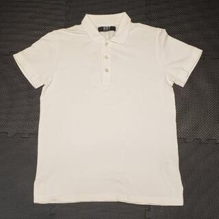 ラフシモンズ(RAF SIMONS)のラフシモンズ 刺繍ワンポイントロゴ 半袖ポロシャツ(ポロシャツ)