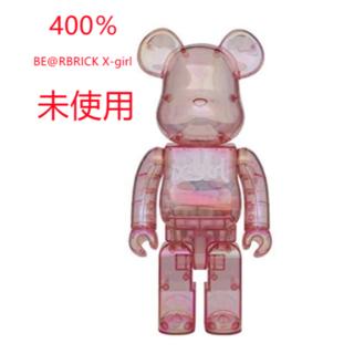 メディコムトイ(MEDICOM TOY)のBE@RBRICK X-girl 2020  400% MEDICO(その他)