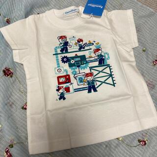 familiar - 新品⭐︎ファミリア おはなしTシャツ  80センチ