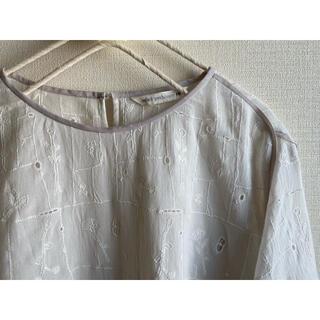 mina perhonen - ミナペルホネン【garden patchwork】ブラウス/38/クリーニング済