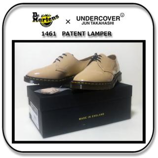 UNDERCOVER - 28cm: Drマーチンxアンダーカバー 1461パテントレザー 英国製 UK9