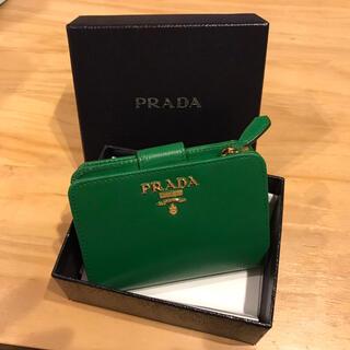 プラダ(PRADA)の☆極美品☆PRADA レザー財布 レディース(財布)