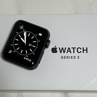 アップルウォッチ(Apple Watch)のApple Watch  Series 3  38mm   バッテリー96%(腕時計(デジタル))