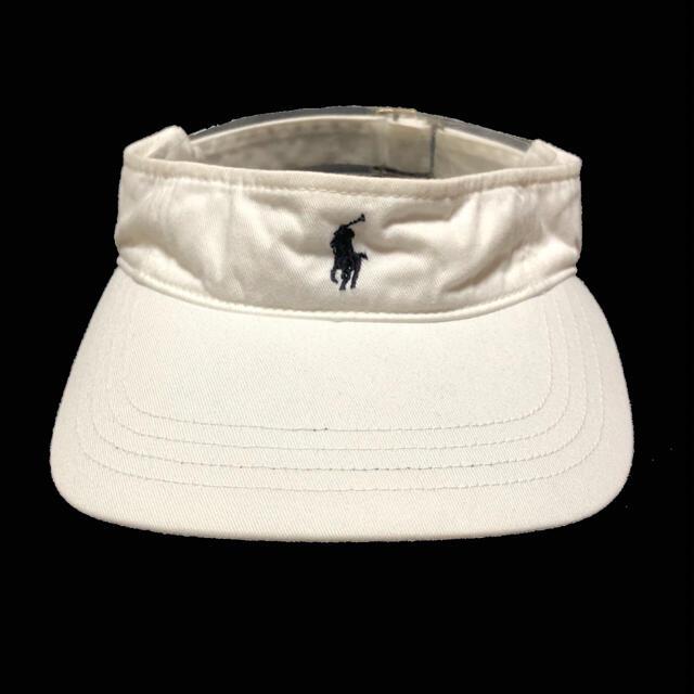 Ralph Lauren(ラルフローレン)の3968 ralph lauren ポロ ラルフローレン サンバイザー キャップ メンズの帽子(キャップ)の商品写真