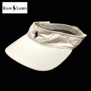 Ralph Lauren - 3968 ralph lauren ポロ ラルフローレン サンバイザー キャップ