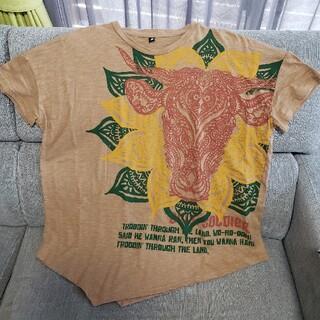 チャイハネ(チャイハネ)のチャイハネ 変形メンズTシャツ👕エスニック(Tシャツ/カットソー(半袖/袖なし))