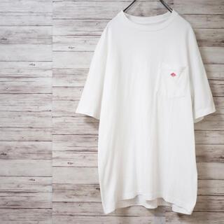 DANTON - DANTON 16SS 天竺コットンポケットロゴTシャツ