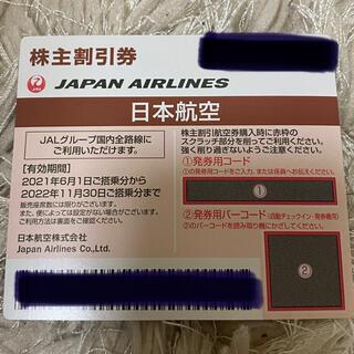 ジャル(ニホンコウクウ)(JAL(日本航空))のJAL 株主優待券 番号通知のみ(その他)