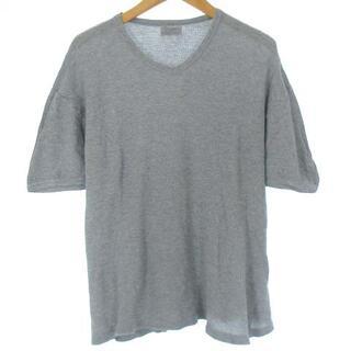 ドルチェアンドガッバーナ(DOLCE&GABBANA)のドルチェ&ガッバーナ ドルガバ Tシャツ サーマル 半袖 Vネック グレー 4(Tシャツ/カットソー(半袖/袖なし))