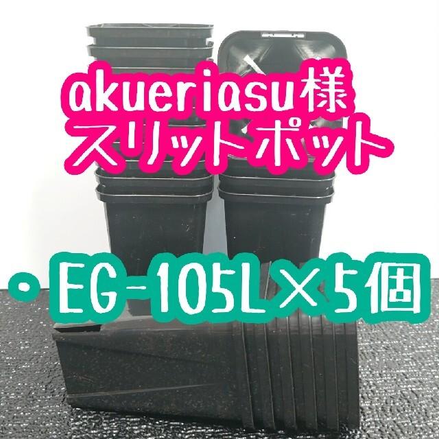 akueriasu様 スリットポット ハンドメイドのフラワー/ガーデン(プランター)の商品写真