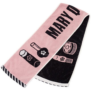 マリークワント(MARY QUANT)の新品 マリークワント ロングタオル ピンク(タオル/バス用品)