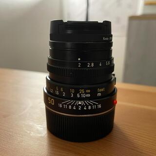 ライカ(LEICA)のライカズミクロン 50mm F2 第三世代(レンズ(単焦点))