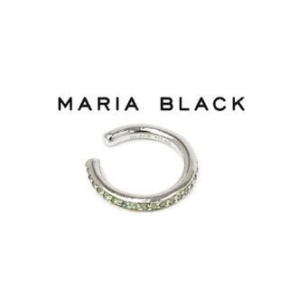ロンハーマン(Ron Herman)のMaria Black マリアブラック クリスタルイヤーカフ シルバーグリーン(イヤーカフ)