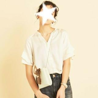 BEAUTY&YOUTH UNITED ARROWS - 2020ss 美品 beauty&y U .A 春夏 スキッパー ブラウス 半袖