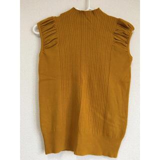 ザラ(ZARA)のグラマラスガーデン ニット調トップス(Tシャツ(半袖/袖なし))