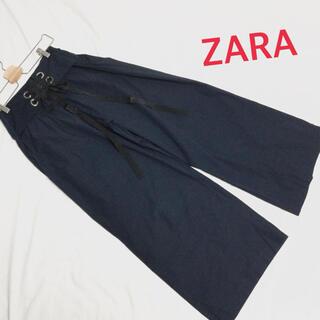 ZARA - 最終お値下げ☆ ZARA BASIC ザラ ガウチョパンツ