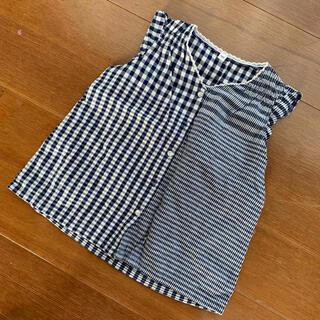 ムジルシリョウヒン(MUJI (無印良品))の無印良品 ノースリーブチュニック(Tシャツ/カットソー)