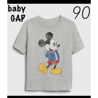 babyGAP - ベビーギャップ 新品 ミッキーマウス Tシャツ 90