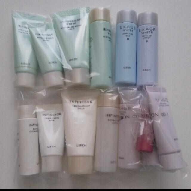 ALBION(アルビオン)のALBION🌸基礎化粧品 キット エクサージュ アンフィネス コスメ/美容のキット/セット(サンプル/トライアルキット)の商品写真
