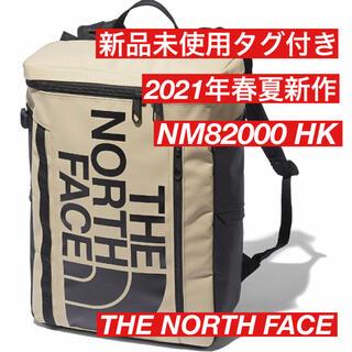 ザノースフェイス(THE NORTH FACE)の新品 ノースフェイス BCヒューズボックス2  NM82000 HK  ベージュ(バッグパック/リュック)