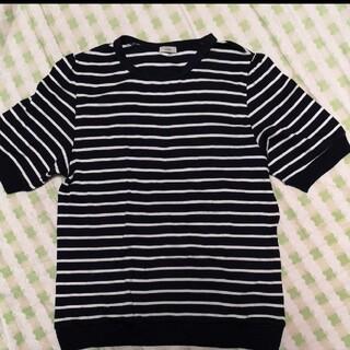 イエナ(IENA)のイエナ 半袖シャツ ボーダー(Tシャツ(半袖/袖なし))