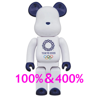 MEDICOM TOY - BE@RBRICK 東京2020オリンピックエンブレム 100% 400%