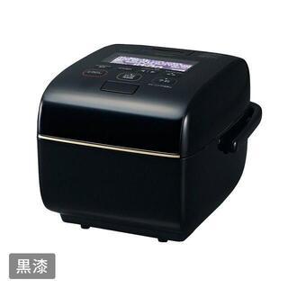 新品 象印マホービン炎舞炊き 5.5合炊き 黒漆 圧力IH炊飯器NW-LA10