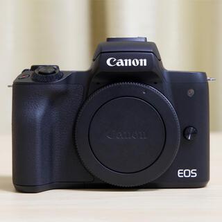 Canon - Canon EOS Kiss M ダブルレンズキット 中古