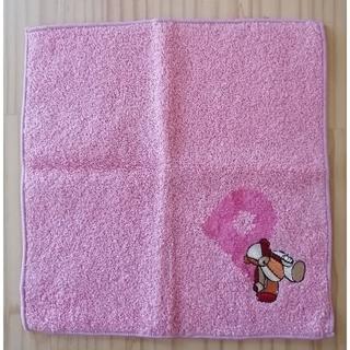 PINK HOUSE - PINKHOUSE ピンクハウス ベアー刺繍ハンドタオル