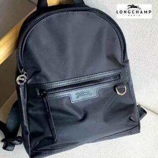 LONGCHAMP - 【新品】ロンシャン LONGCHAMP ネオ リュックサック 黒 レディース