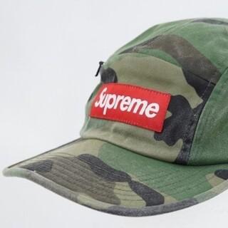 Supreme - シュプリーム Supreme 帽子 キャップ 緑 赤  カモフラ ロゴ