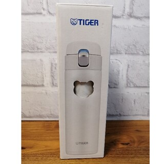 新品 タイガー 水筒 480ml ホワイト 白(水筒)